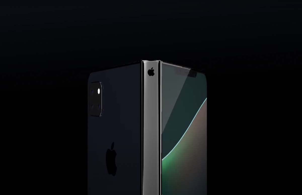 Прототип складного смартфона iPhone Fold