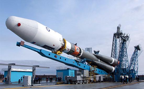 Вывоз ракеты «Союз-2.1а» настартовый комплекс космодрома Восточный. 23 апреля 2016 года
