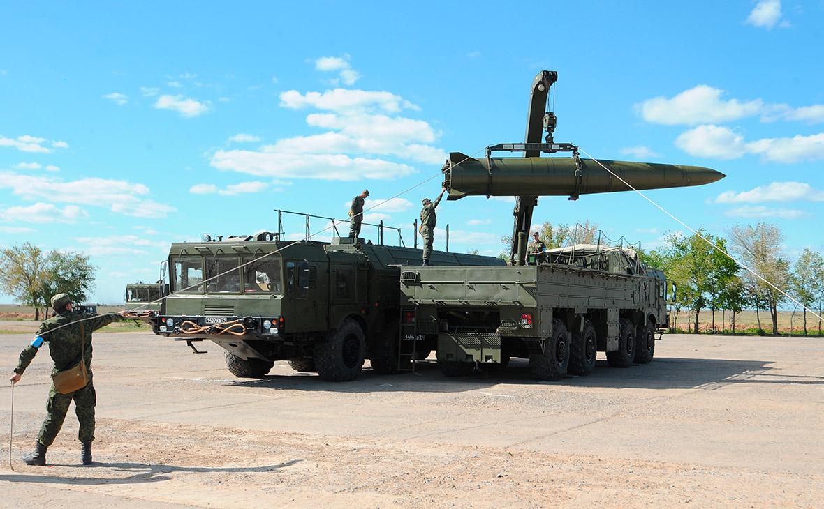 Оперативно-тактические ракетные комплексы «Искандер-М»