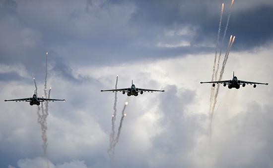 Штурмовики Су-25 «Грач». Архивное фото