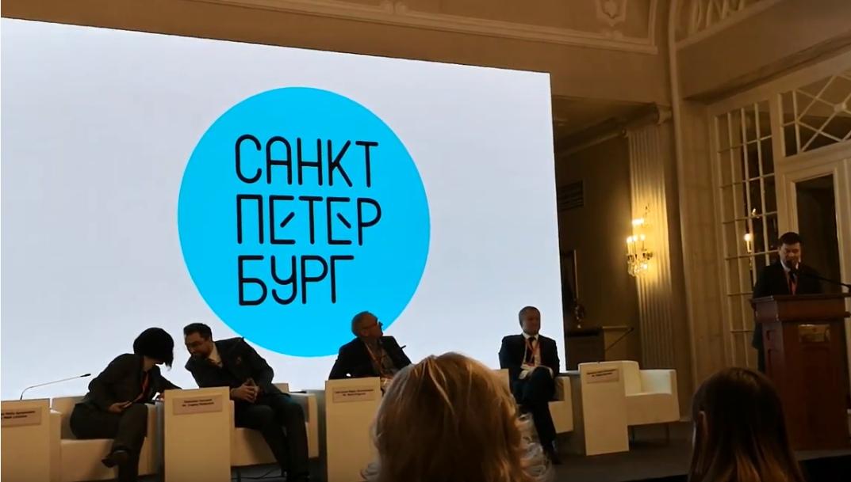 Фото: Скрин видеозаписи презентации со страницы  «Жизнь моя - Петербург и еще чего-то немного» на Youtube