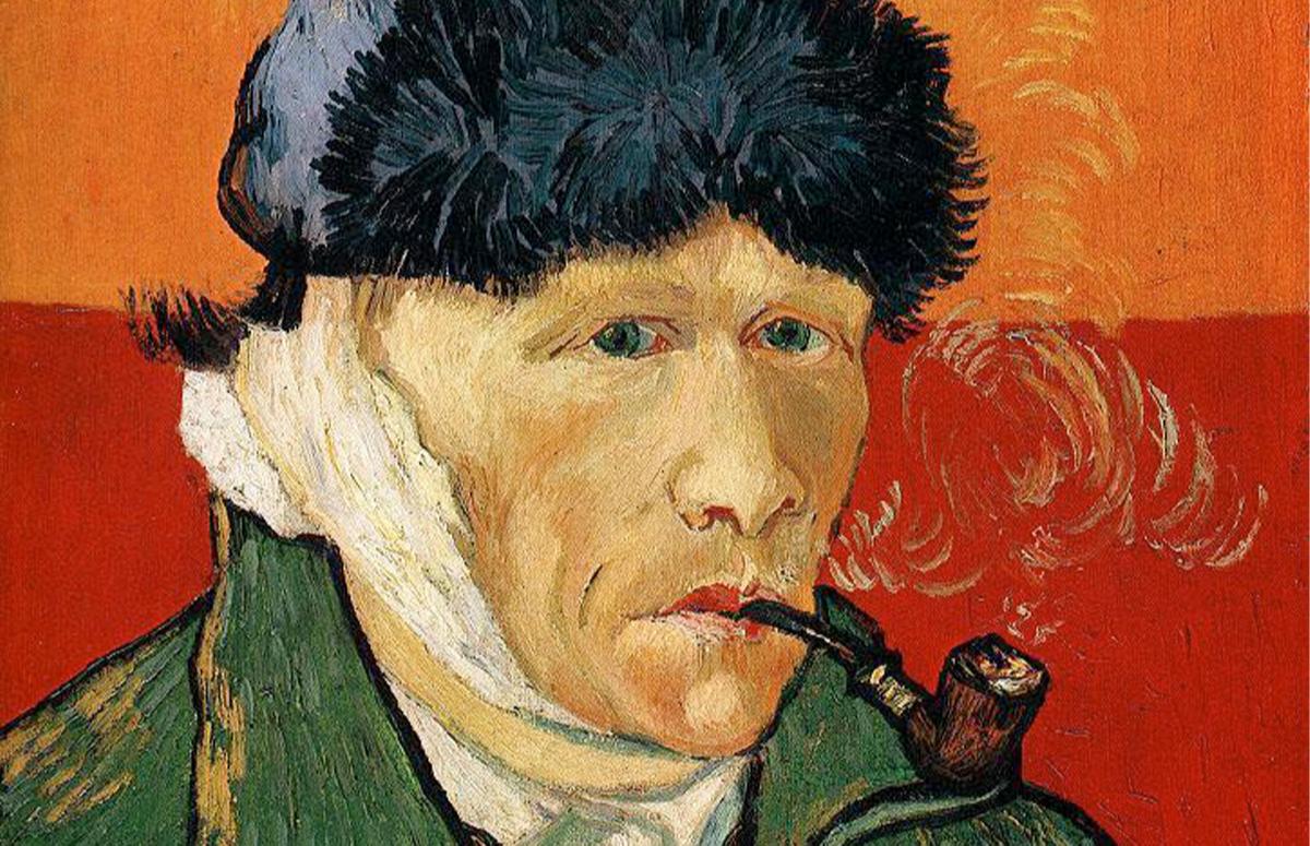 Винсент ван Гог, «Автопортрет с отрезанным ухом», 1889
