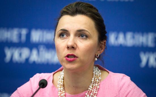 Замминистра экономики Украины Наталия Микольская