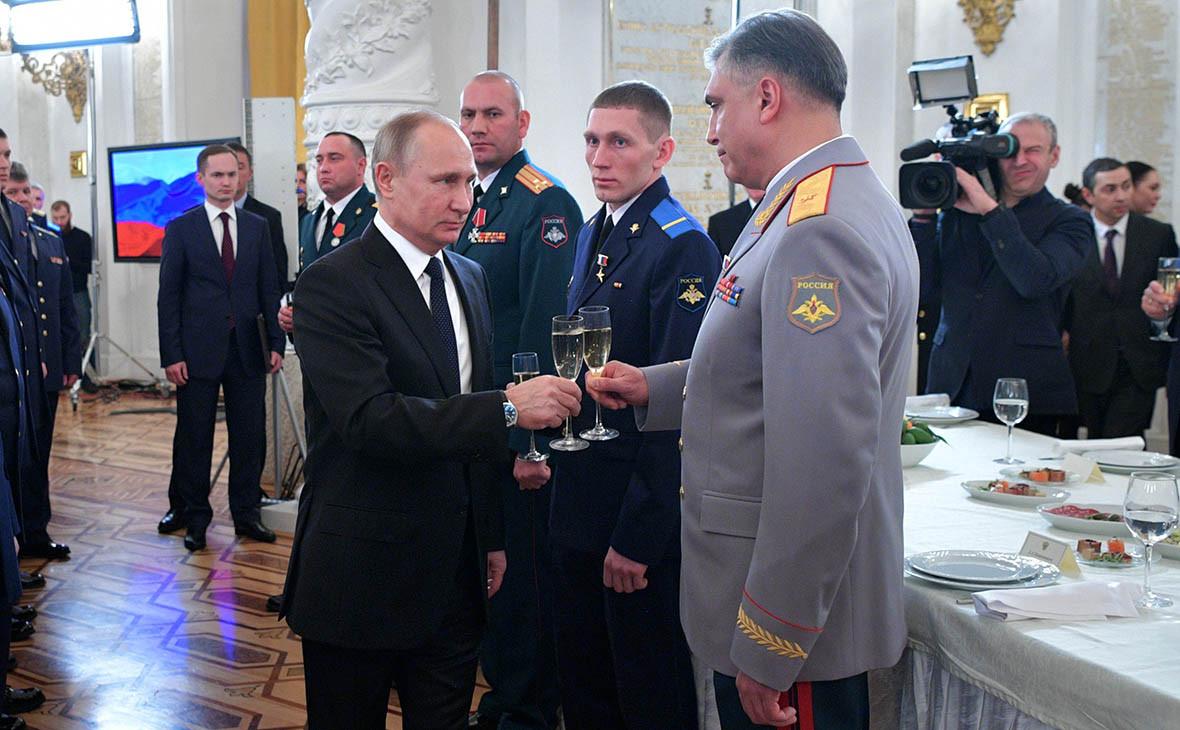 Владимир Путин и Александр Матовников