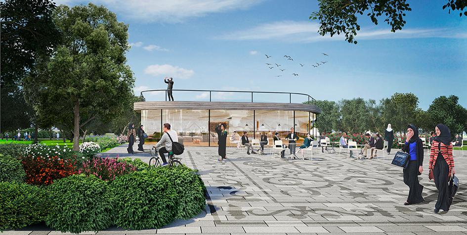 Проект благоустройства парка Хусейна бен Талала (бывший парк Павла Мусорова)