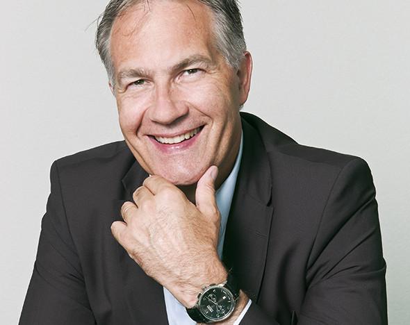 Фото: Президент компании Union Glashütte Адриан Боссард