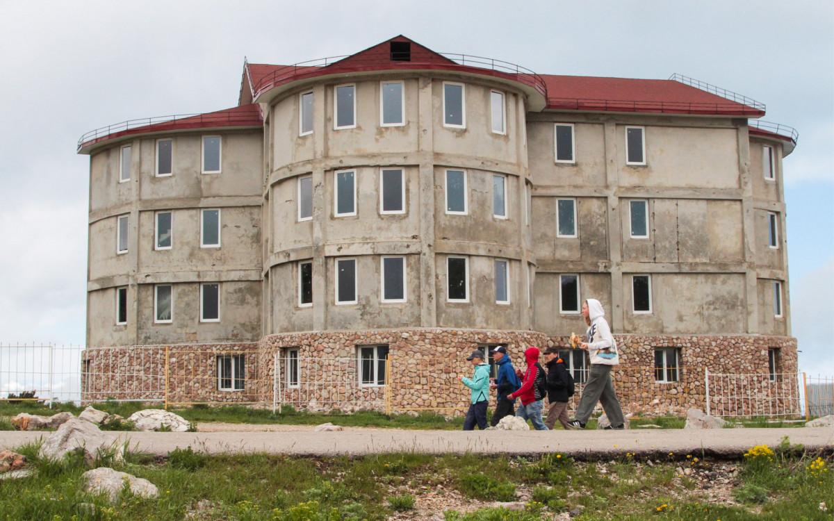 Самовольная постройка в Крыму