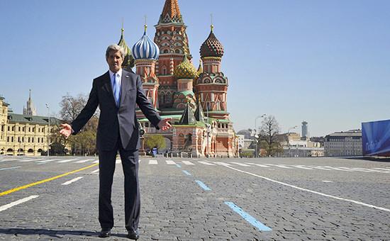 Госсекретарь США Джон Керри вМоскве, 2013 год