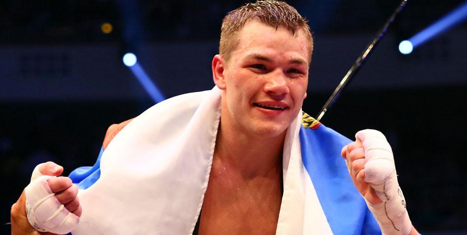 Российский боксер Федор Чудинов