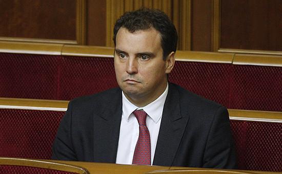 Глава Министерства экономики Украины Айварас Абромавичус