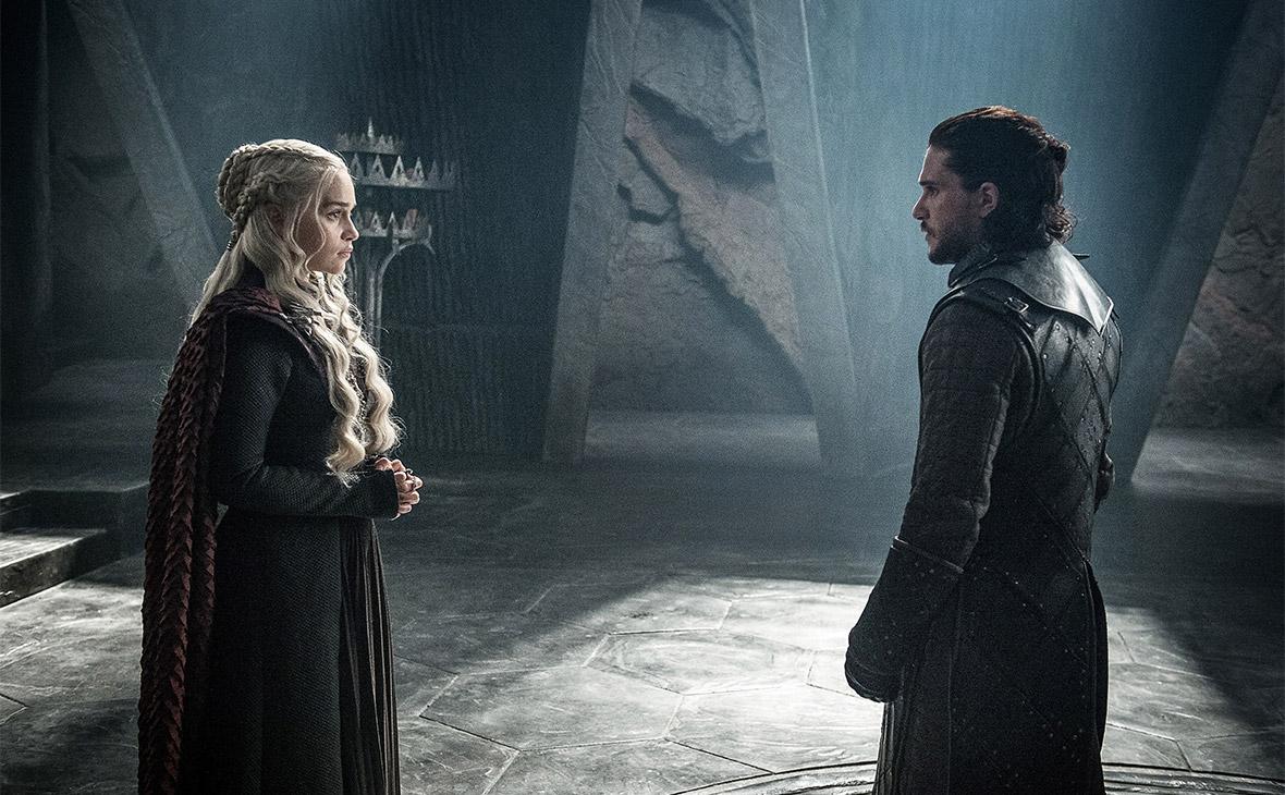 Кадр из сериала«Игра престолов»