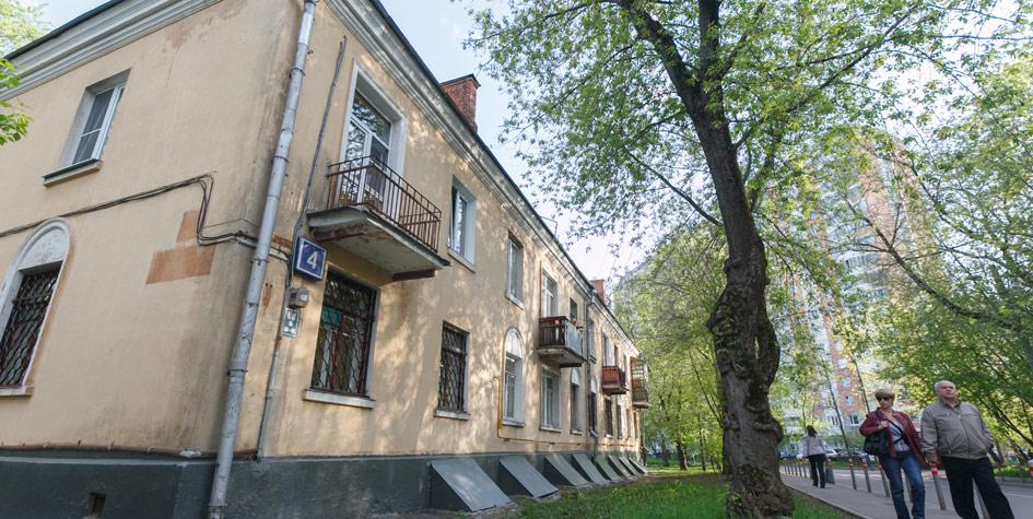 Двухэтажный жилой дом наВересковой улице врайоне Свиблово, попавший впредварительный список длявключения впроект реновации