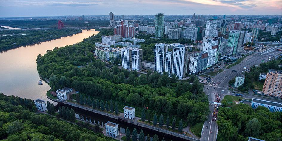 Вид на районХорошево-Мневники