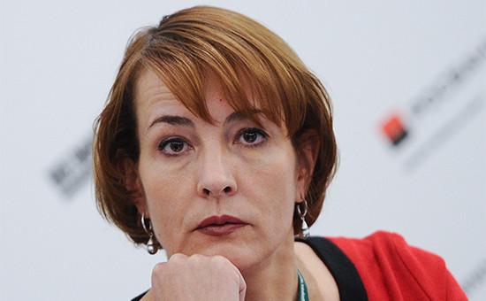 Главный редактор газеты «Ведомости» Татьяна Лысова