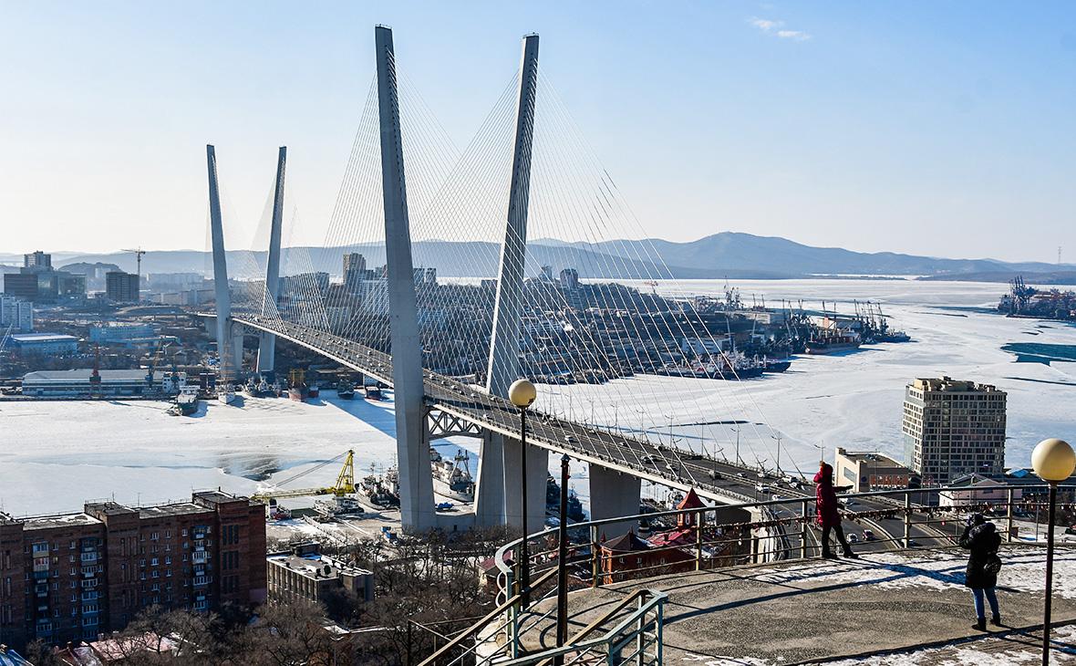Вид городаВладивостока