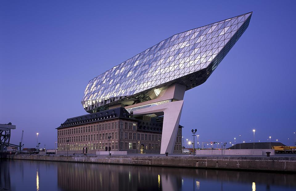 Port House в Антверпене