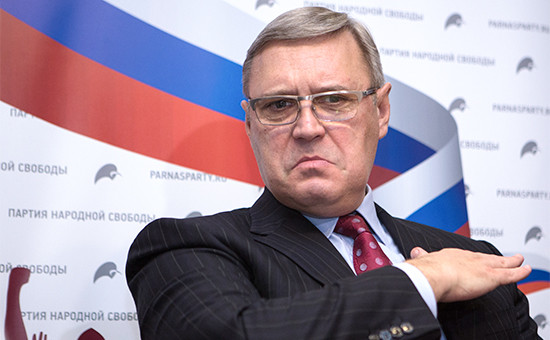 Пресс-конференция Михаила Касьянова в Нижнем Новгороде. 12 февраля 2016 года