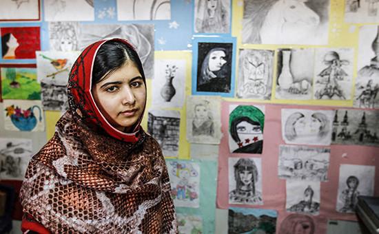 Пакистанская правозащитница Малала Юсуфзай