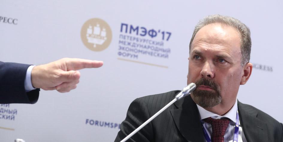 Михаил Мень наПМЭФ-2017