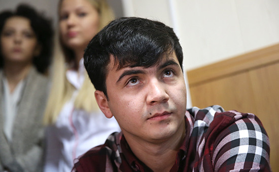 Абдувахоб Маджидов вГагаринском суде Москвы,31 августа 2016года