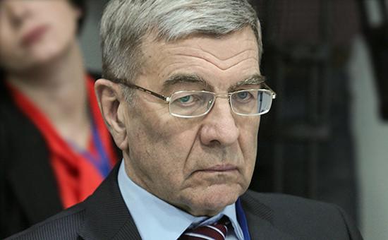 Экс-глава Конструкторского бюро химавтоматики (КБХА) Владимир Рачук