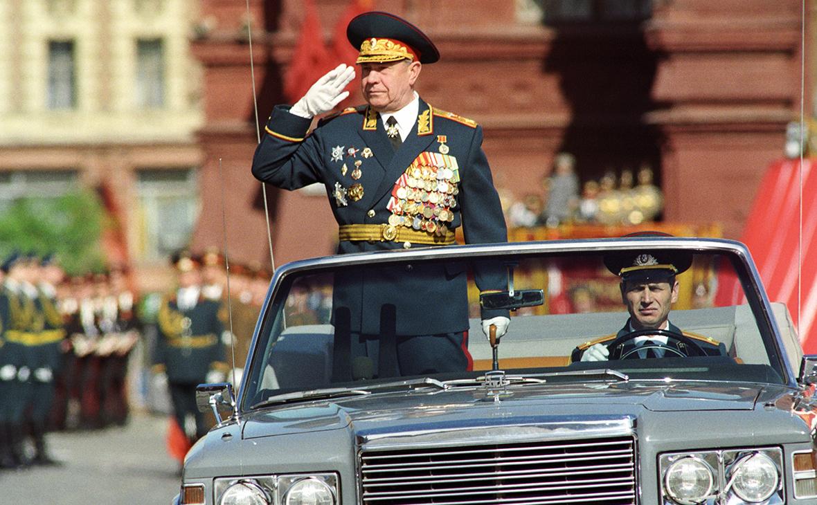Дмитрий Язов, 1990 г.