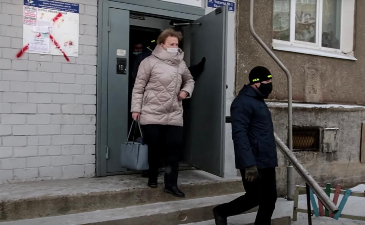 Задержание Наталии Ледяевой