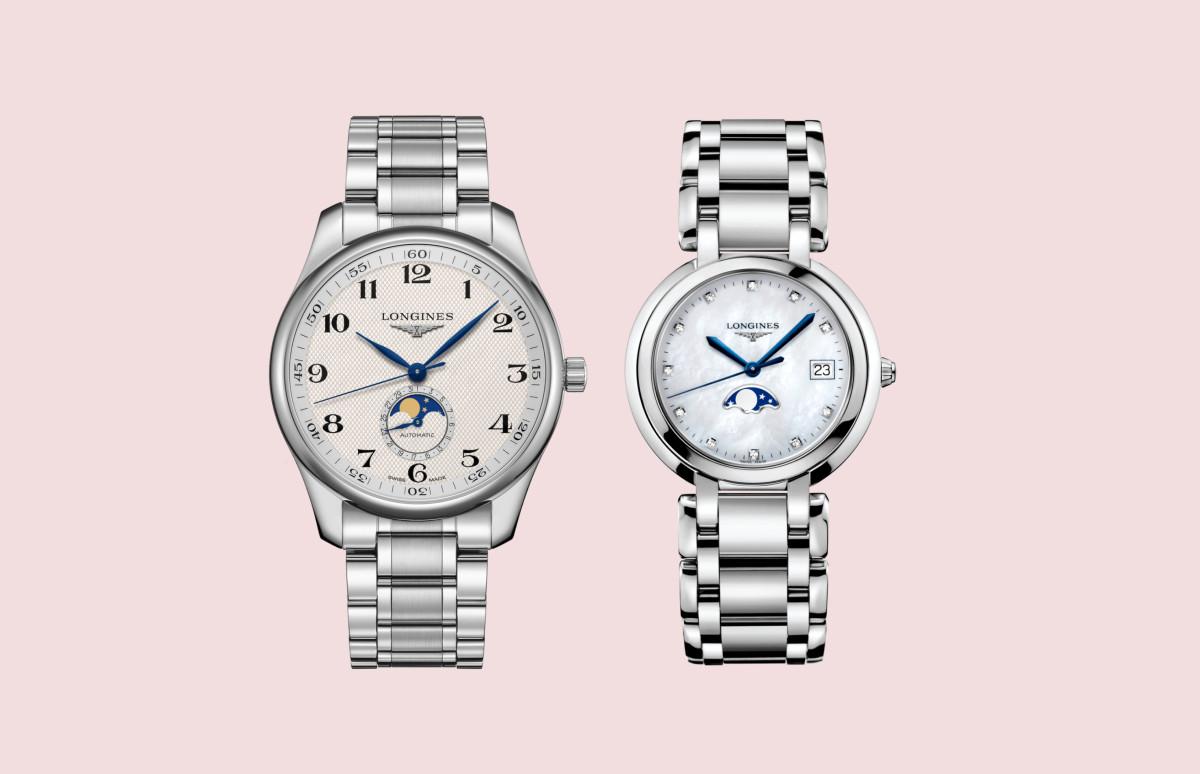 Часы Master Colletion и PrimaLuna, Longines