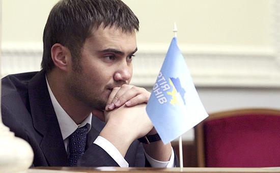 Сын экс-президента Украины В.Януковича Виктор Янукович. Архивное фото.