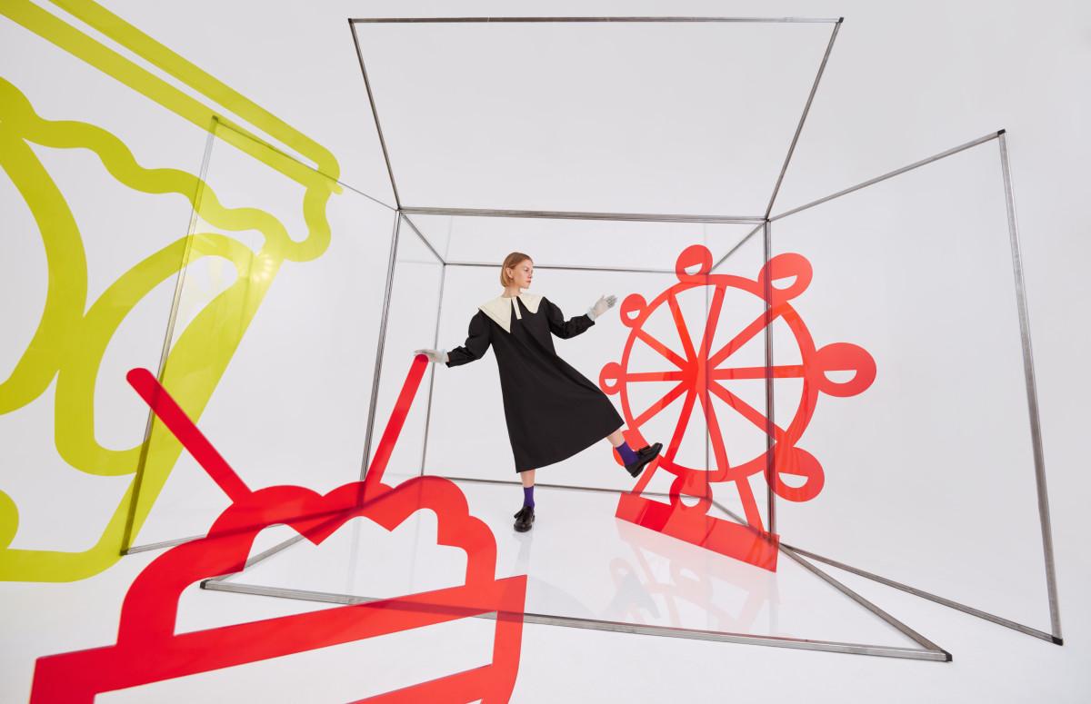 Евгения Борзых в рекламной кампании AliExpress Россия