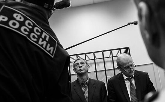 Владимир Евтушенков на заседании суда