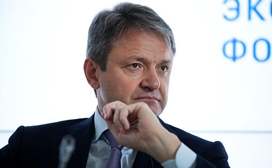 Министр сельского хозяйства РФАлександр Ткачев наПетербургском экономическом форуме