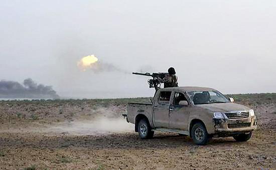 Член «Исламского государства» в Пальмире