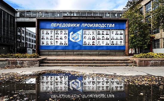 На территории завода им.Лихачева (ЗИЛ)