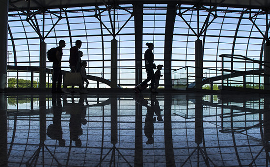 Пассажирский терминал в аэропорту Домодедово
