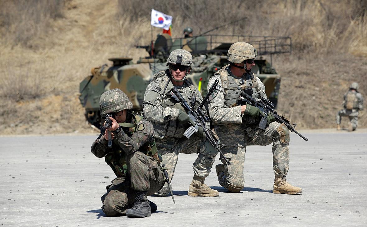 Совместные учения армий США и Южной Кореи