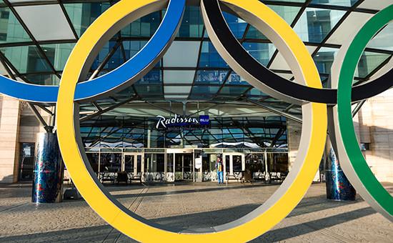 Вход вотель Radisson Blu Resort & Congress Centre вгороде Сочи
