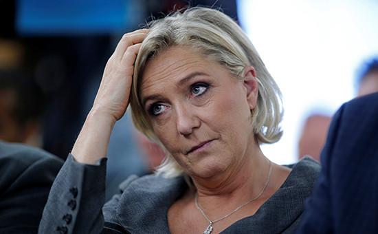 Кандидат впрезиденты Франции Марин Ле Пен