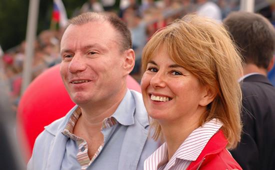 Владимир иНаталья Потанины. 2004 год