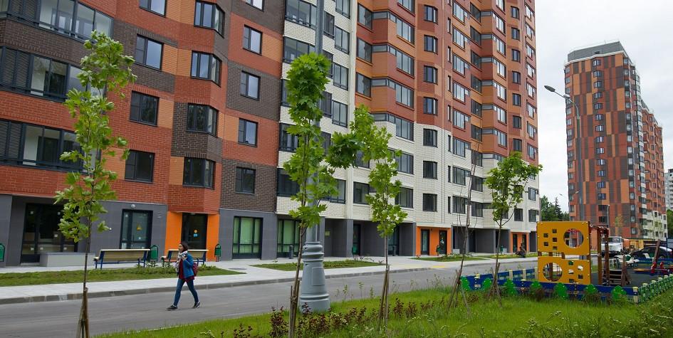 Новые дома для переселения по программе реновации