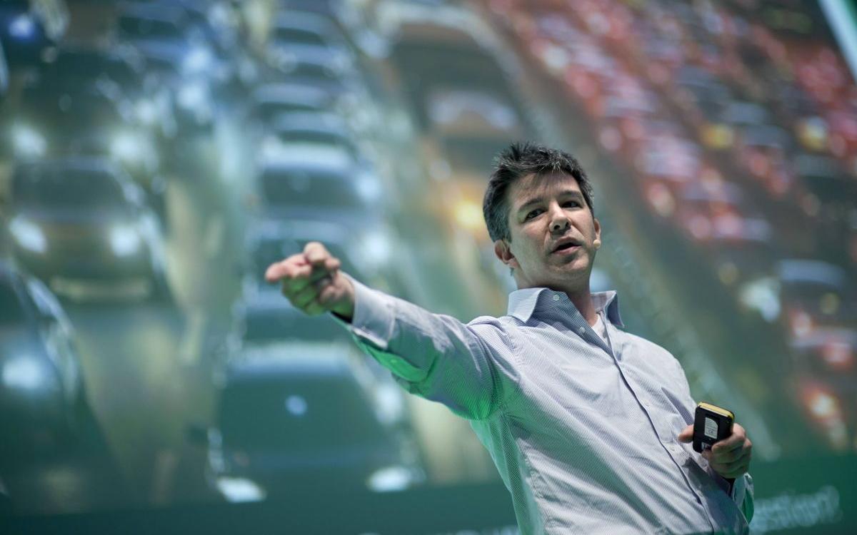Основатель Uber Трэвис Каланик