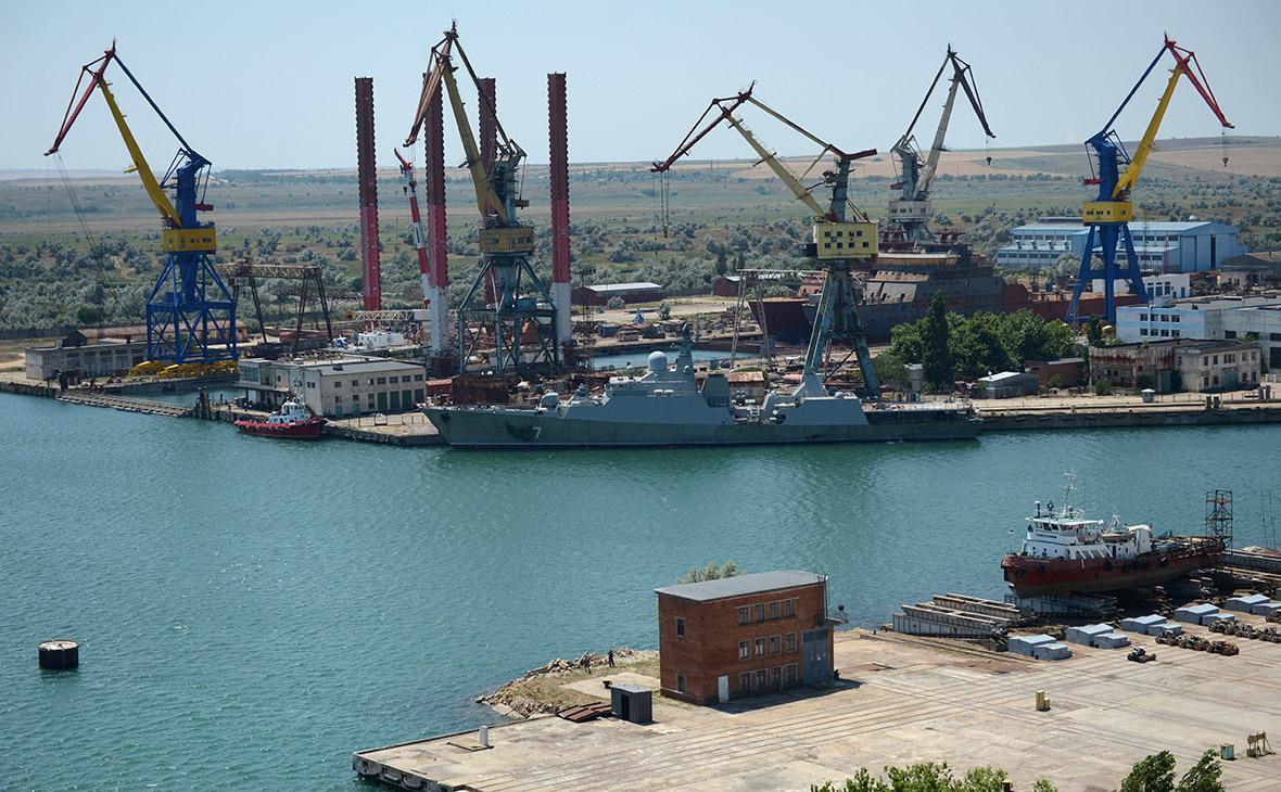 Судостроительный завод «Залив» в Керчи