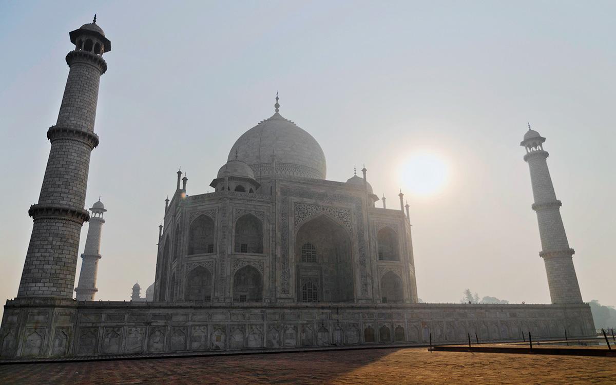 Тадж-Махал (Агра, Индия)