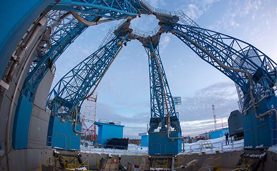 Строительство космодрома Восточный. Ноябрь 2015 года