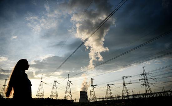 Калининская атомная электростанция (КАЭС) вблизи города Удомля Тверской области