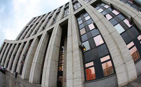 Здание Внешэкономбанка РФ напроспекте Академика Сахарова, Москва
