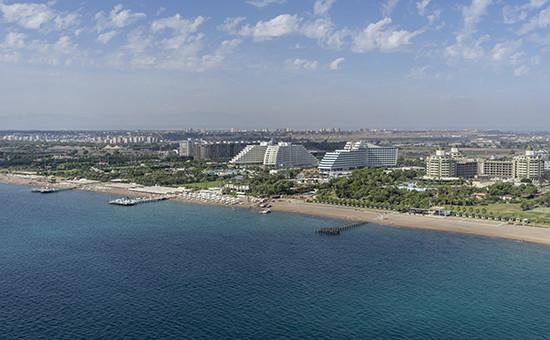 Гостиничные комплексы на побережье Турции