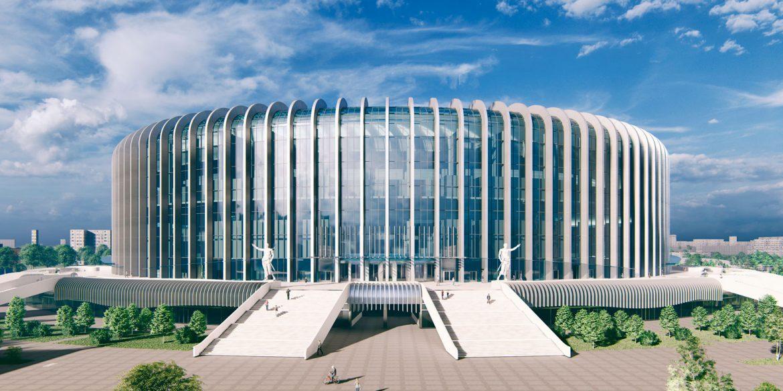 Эскиз новой ледовой арены