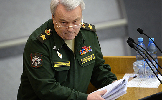 Замминистра обороны Николай Панков