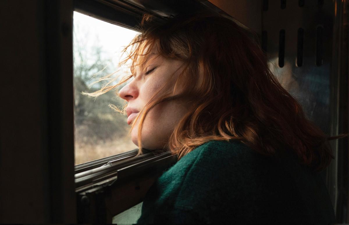 Кадр из фильма «Купе №6»